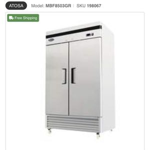 Commercial Double Door Reach In Freezer for Sale in Atlanta, GA
