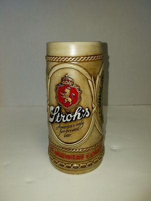 Strohs americas only fire brewed beer stein for Sale in East Wenatchee, WA