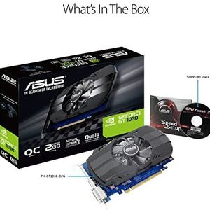 Asus PH-GT1030-O2G GeForce GT 1030 Graphic Card New In Opened Box NEVER USED for Sale in Cape Coral, FL