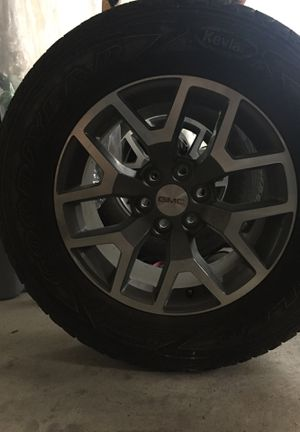 (4) 2015 Goodyear Wrangler GMC Canyon Tires for Sale in Grand Junction, CO