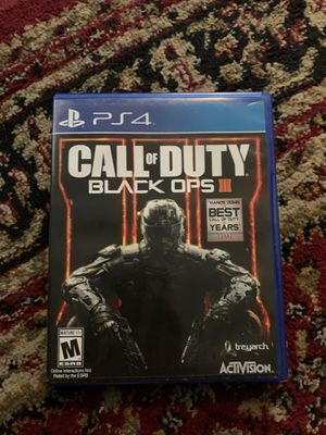 Call of duty black ops 3 for Sale in Lawndale, CA