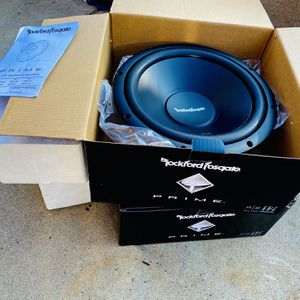 $150 No Less Firm / Brand New Fosgate 12s Pair Dual 2 Ohm Subs for Sale in Sanger, CA