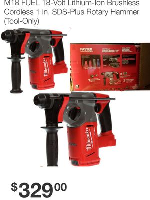 Milwaukee SDS PLUS ROTARY HAMMER DRILL ( Drill Only for Sale in Austell, GA
