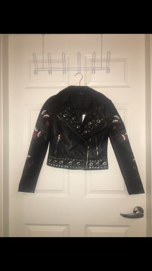 Romeo & Juliette Couture Faux Leather Jacket for Sale in Chicago, IL