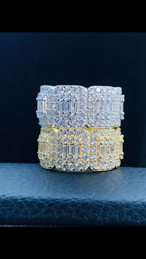 New - baguette iced out band rings for Sale in Lawndale, CA