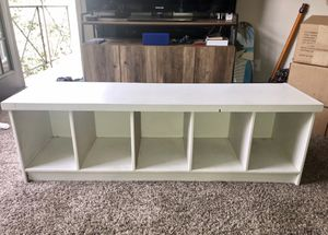 Bench with cubbies for Sale in Dallas, TX