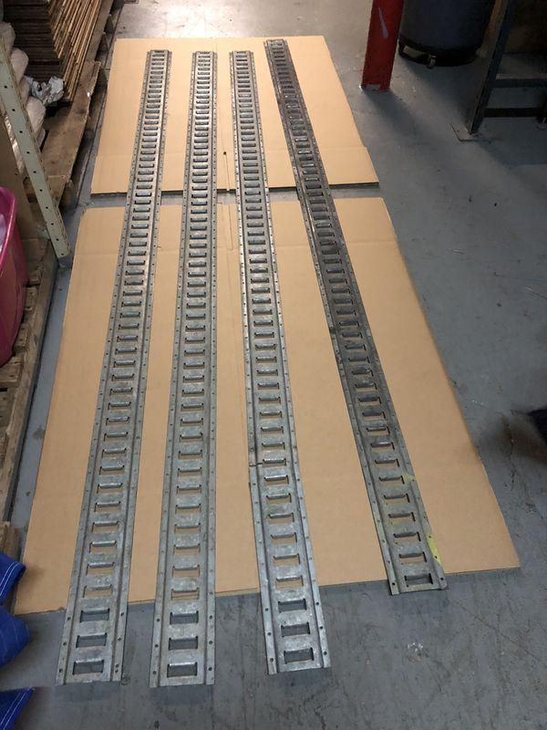 10 ft. E Track Galvanized 4 pieces