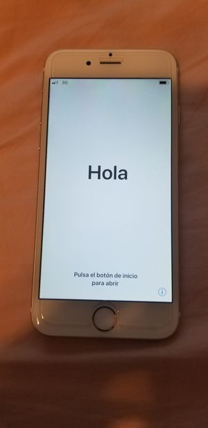 IPHONE 6 GOLD 16 GB for Sale in Lake Worth, FL