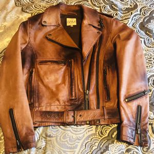 SAM NEW YORK 100% LEATHER JACKET SZ:Small for Sale in Miami, FL