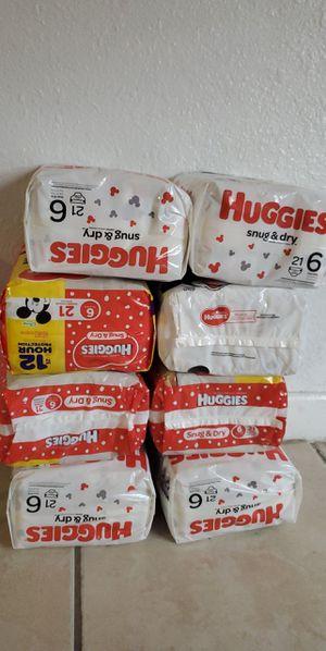 Huggies size 6 for Sale in Miami, FL