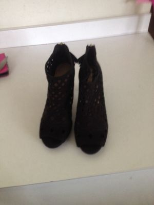 Size 12w fringe heels from lane Bryant for Sale in High Point, NC