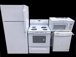 4 piece kitchen appliance package. for Sale in Winter Park, FL