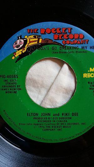 Elton John and Kiki Dee 45rpm for Sale in Woodbine, MD