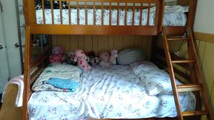 Bunk bed No Mattress Included 120 Dollars OBO for Sale in Martinez, CA