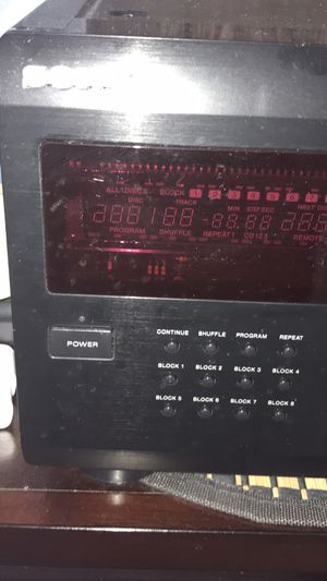 Vintage mega cds player 200 cds perfect working condition for Sale in Deltona, FL