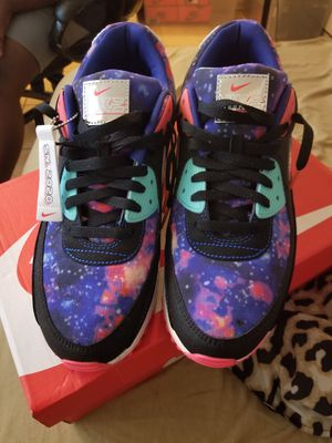 Nike air max galaxy size 12 worn once for Sale in Washington, DC