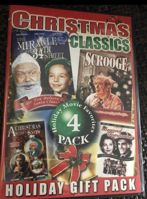 CHRISTMAS CLASSICS (4 holiday movie favorites) Dvd for Sale in Tamarac, FL