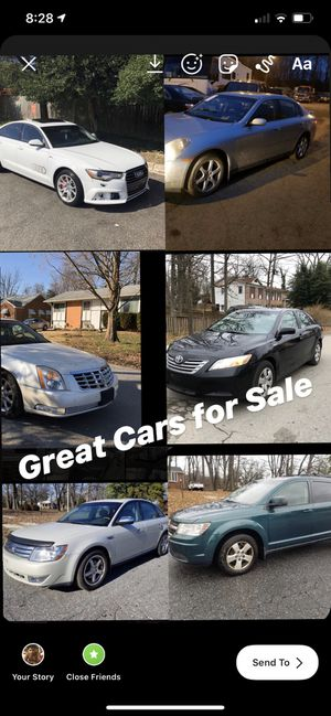 Great cars good prices for Sale in Clinton, MD