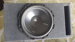 "Fosgate 12"" Punch Subwoofer, Sub box for Sale in San Diego, CA"