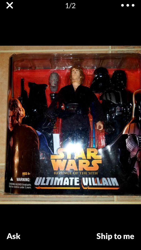 STAR WARS RARE ANAKIN/DARTH VADER TRANSFORM COSTUME DOLL FROM REVENGE OF THE SITH SELLING UP TO $100