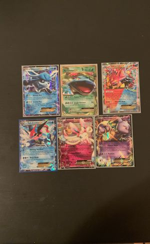 40 Pokémon EX cards for Sale in Lancaster, OH