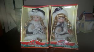 Porcelain collectible Christina Christmas dolls for Sale in Jacksonville, FL