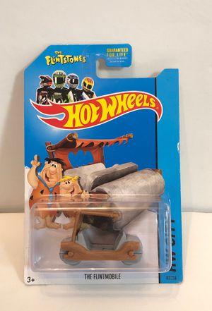 Hot Wheels The Flintstones The Flintmobile HW City 2014 Mattel for Sale in Las Vegas, NV
