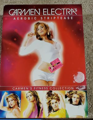 Carmen Electra workout dance dvds for Sale in New Lenox, IL