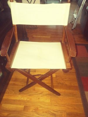 Fold up directors chair for Sale in Palm Bay, FL