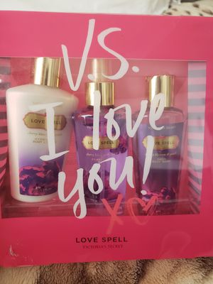 Best Offer Brand New Victoria's Secret Love Spell Set for Sale in San Diego, CA