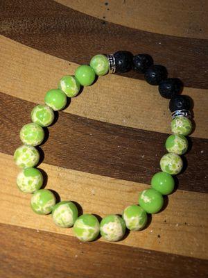 Jasper lava stone bracelet for Sale in Stockton, CA