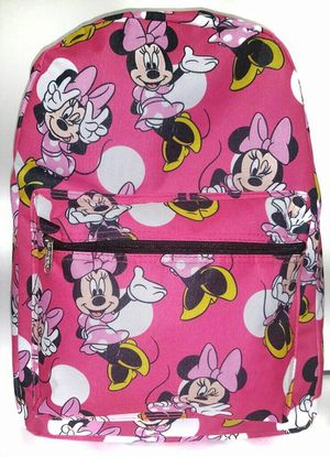 Brand NEW! Pink Minnie Mouse Backpack For School/Traveling/Everyday Use/Disneyland Trips/Christmas Gifts/Birthday Gifts $20 for Sale in Carson, CA