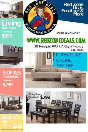 Furniture 70% OFF for Sale in Industry, CA