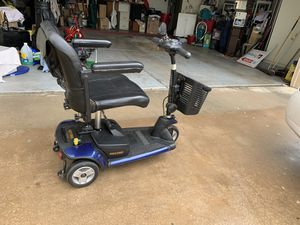 Go-Go elite mobility scooter. Breaks down into 3pieces for transport. It can be blue red or gray. I have all the parts to change the color plus 2 s for Sale in Sun City, AZ