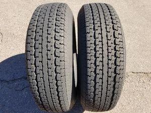 Two (2) ST235/80R16 Goodyear Marathon 10ply Trailer Tires for Sale in Phoenix, AZ