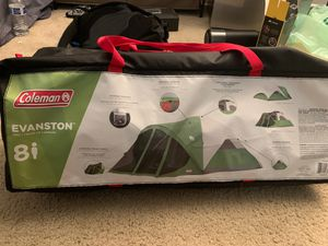 Brand New Coleman tent for 8 people for Sale in Diamond Bar, CA