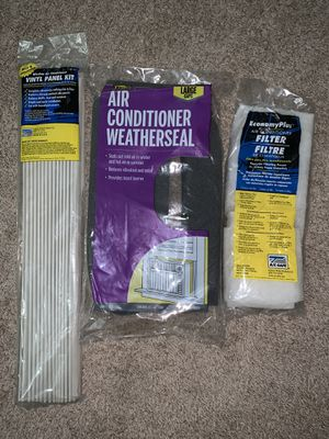 WINDOW AIR CONDITIONER STARTER KIT for Sale in Chicago, IL