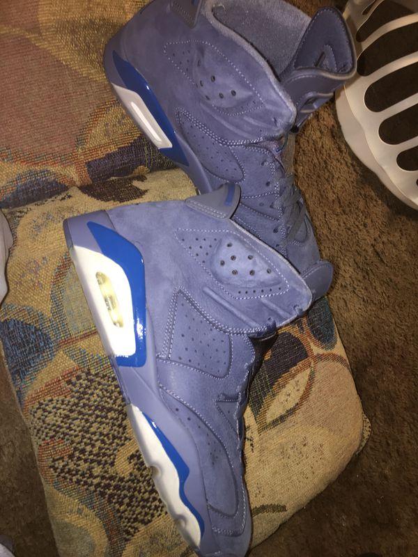Blue Jordan 6s (Size 11)