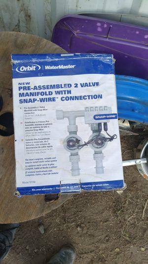 Orbit 57250 2-Valve Preassembled Manifold for Sale in Benton City, WA
