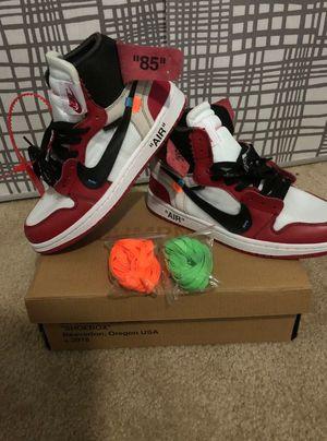 Jordan 1 off white size 9.5 for Sale in Tampa, FL