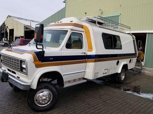 Custom 1980 Camper Van _ class B for Sale in Bellingham, WA