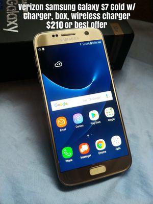 Samsung Galaxy S7 Verizon for Sale in Santa Maria, CA
