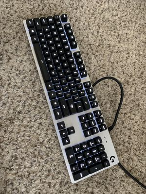 Logitech G413 silver mechanical backlit gaming keyboard for Sale in Arlington, TX