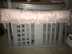 Gray baby crib $35 for Sale in Stafford, VA