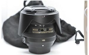 Nikon AF-S NIKKOR 24-85mm f/3.5-4.5 G ED VR Lens for Sale in Downey, CA