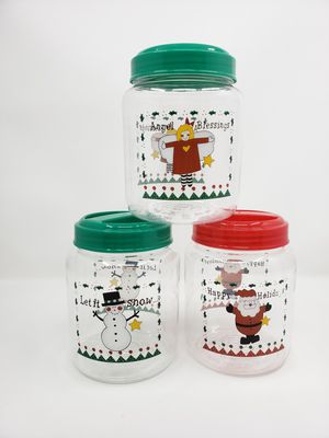 Christmas Holiday Plastic Storage Containers Santa, Angel New for Sale in Lemon Grove, CA