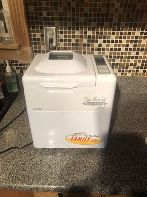 Sanyo Automatic Bread Maker SBM15 Home Bakery Tested and Clean for Sale in Oklahoma City, OK