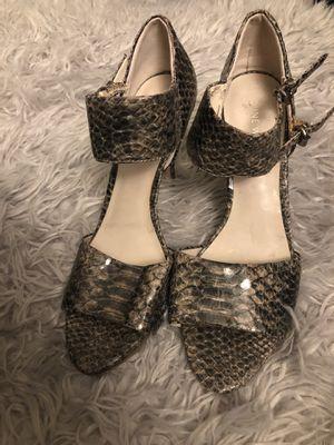 Nine West Gray Snakeskin Heels for Sale in Artesia, CA