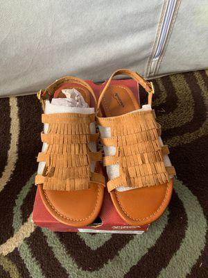 New girls fringe sandals for Sale in Arlington, TX