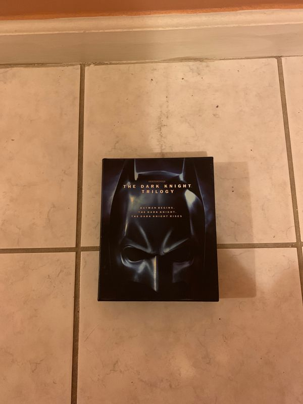 The Dark Knight Trilogy Blu-ray DVD